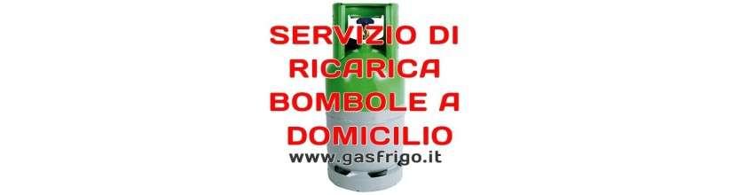 RICARICA BOMBOLE GAS REFRIGERANTE