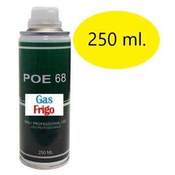 OLIO POE ISO 68 ml. 250 CLIMATIZZATORE CONDIZIONAMENTO REFRIGERAZIONE R134A R404